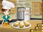 เกมส์ทํามัฟฟินกล้วย Banana Muffins