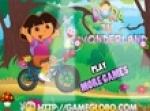 เกมส์ปั่นจักรยานDora