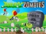 เกมส์ดอกไม้ยิงซอมบี้ Angry Zombies