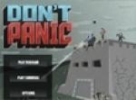 เกมส์ยิงป้องกันฐาน Don't Panic