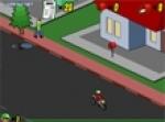 เกมส์ปั่นจักรยานส่งหนังสือพิมพ์