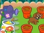 เกมส์น้องหมาปลูกผัก