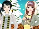 เกมส์แต่งตัวเล่นหิมะ
