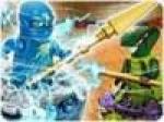 เกมส์นินจาโกต่อสู้แบบหมุนหอก Ninjago Energy Spear 2