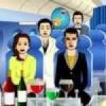 เกมส์เสิร์ฟอาหารบนเครื่องบิน