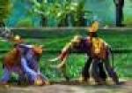 เกมส์ต่อสู้ช้างก้านกล้วย2คน