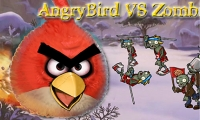 เกมส์Angry Bird VS Zombies