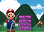 เกมส์มาริโอ้ยิงหมี Mario Shooting Enemies