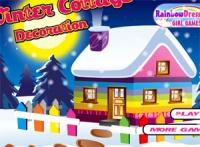 เกมส์แต่งบ้านหิมะ