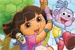 เกมส์ต่อจิ๊กซอ Puzzle Fun Dora with Boots