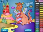 เกมส์ระบายสีมังกร DragonCastle Coloring
