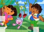 เกมส์ต่อจิ๊กซอ Sort My Tiles Dora