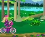 เกมส์สาวปั่นจักรยานเก็บดอกไม้