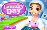 เกมส์ร้านซักรีด Laundry Day