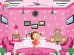 เกมส์แต่งห้องบาร์บี้ Barbie Pink Room