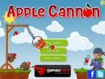 เกมส์ยิงแอปเปิ้ลลงถัง Apple Cannon